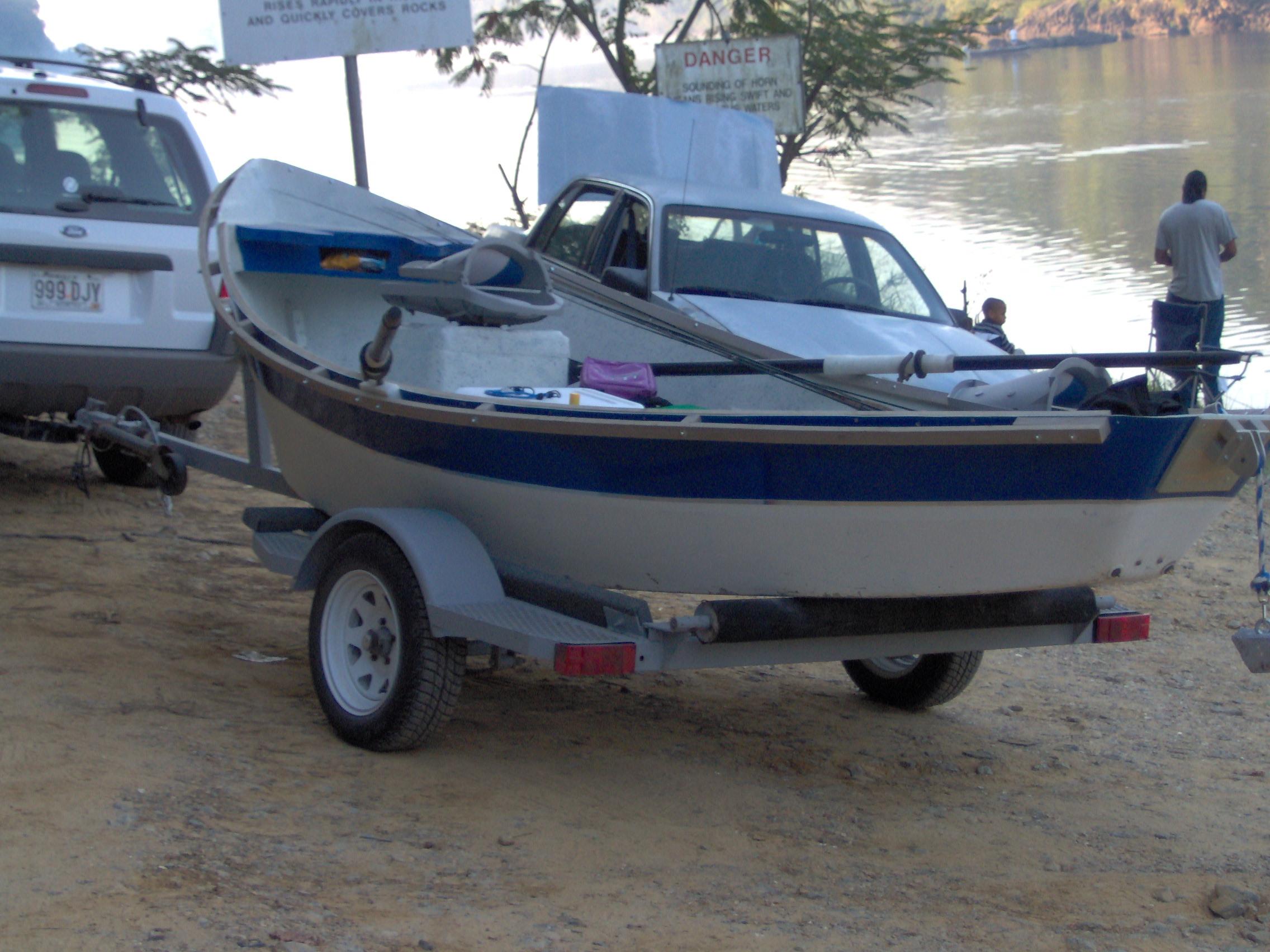 Stolen Drift Boat